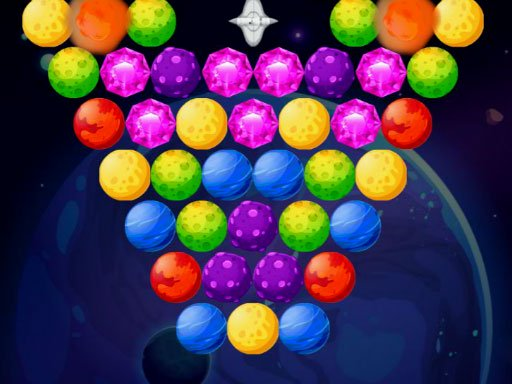 Bubble Shooter Planets